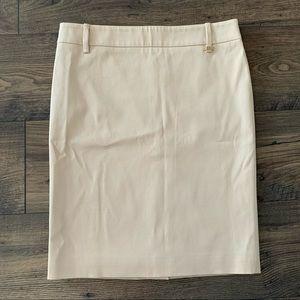 Gucci Dress Skirt Straight Pencil Sandy Gold sz 10